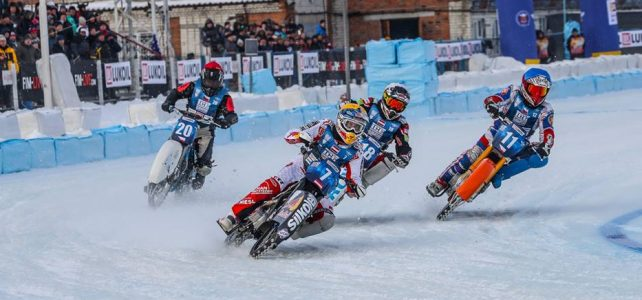 První závod Mistrovství světa družstev na ledě