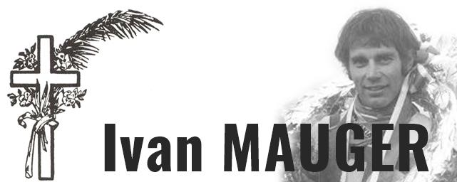Zemřel Ivan Mauger