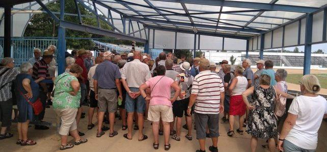 Turisté z Dánska navštívili plochodrážní stadion