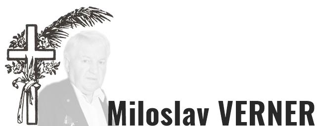 Zemřel Miloslav Verner