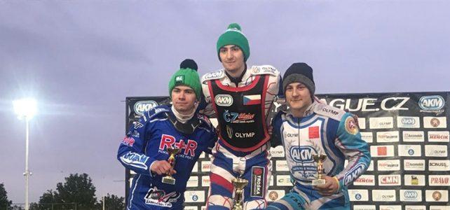 Druhý závod juniorů se jel v Praze