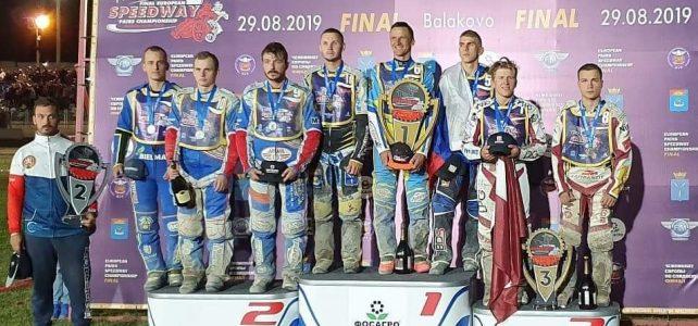 Česká republika má stříbro z Mistrovství Evropy dvojic