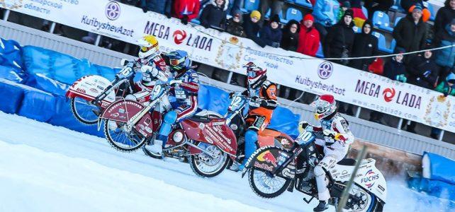 Čtvrtý závod FIM Ice Speedway World Championships