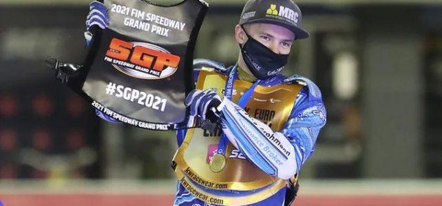 Robert Lambert vítězem Speedway Euro Championship 2020